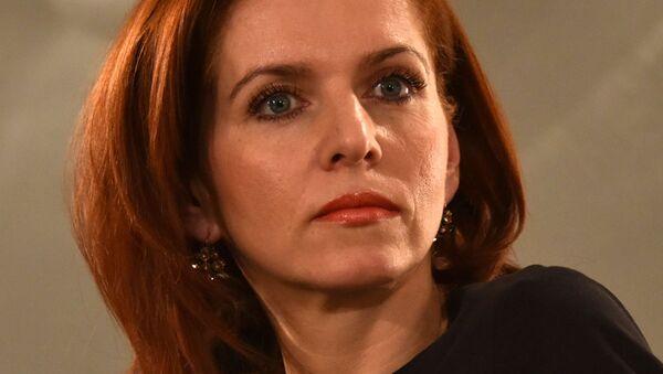 Moderátorka ČT Nora Fridrichová - Sputnik Česká republika