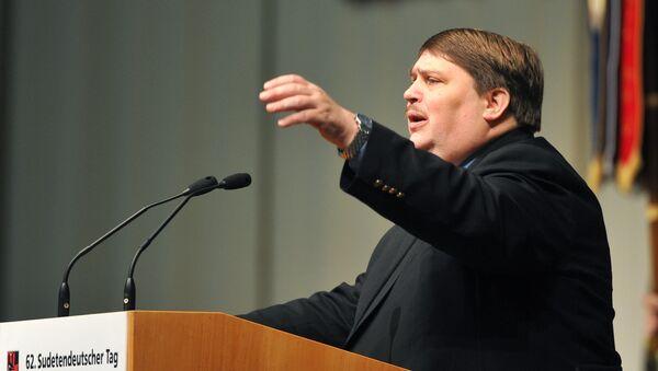 Bernd Posselt. Archivní fotografie - Sputnik Česká republika