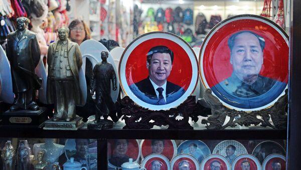 Prodej suvenýrů v Pekingu - Sputnik Česká republika