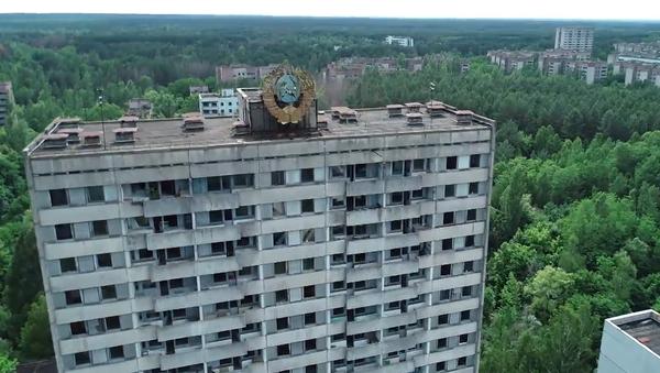 Uzavřená zóna. Unikátní záběry z opuštěného města, které postihla nejděsivější jaderná katastrofa - Sputnik Česká republika
