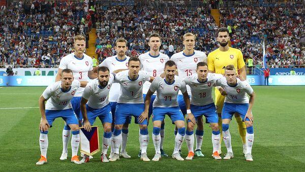 Čeští hráči před přátelským zápasem proti Rusku v Rostově na Donu - Sputnik Česká republika