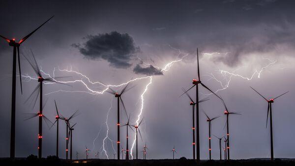 Větrné elektrárny v Německu (ilustrační foto) - Sputnik Česká republika