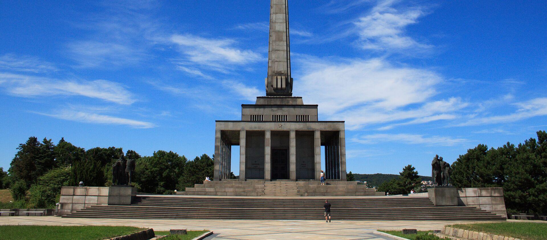 Pamětní komplex Slavin v Bratislavě, Slovensko - Sputnik Česká republika, 1920, 04.04.2021