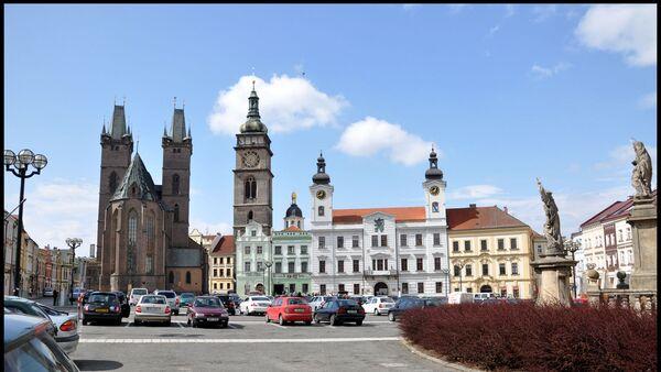 Centrum Hradce Králové s Bílou věží - Sputnik Česká republika