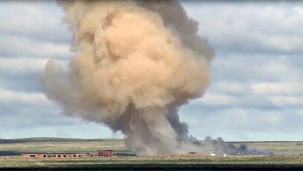 Odpálení nové rakety na polygonu Sary-Šagan v Kazachstánu v roce 2019. Ilustrační foto - Sputnik Česká republika