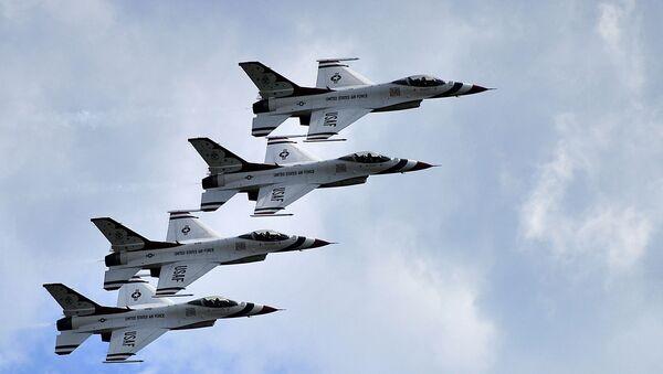Stíhačky F-16 americké armády - Sputnik Česká republika