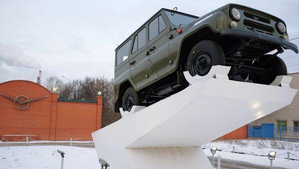 UAZ 469 - Sputnik Česká republika