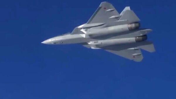 Su-57 - Sputnik Česká republika