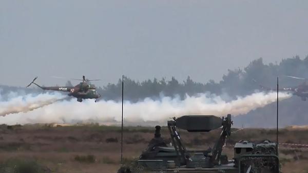 V Polsku probíhají nejrozsáhlejší vojenská cvičení NATO Dragon 2019 (VIDEO) - Sputnik Česká republika
