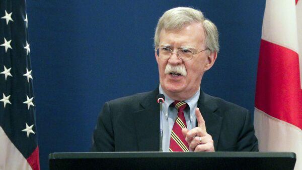 Poradce amerického prezidenta pro bezpečnost John Bolton - Sputnik Česká republika