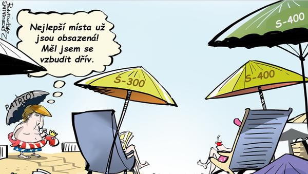 deštník Patriot - Sputnik Česká republika