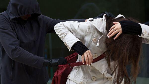 Útok na ženu. Ilustrační foto - Sputnik Česká republika