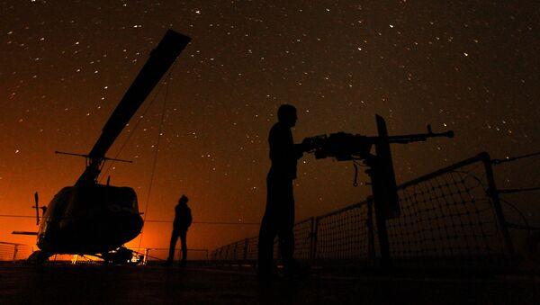 Íránské námořnictvo v Hormuzském průlivu - Sputnik Česká republika