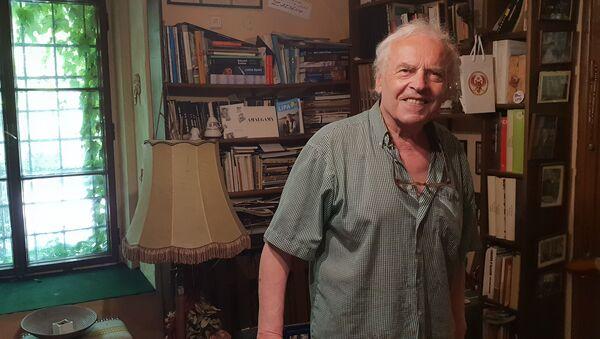 Karel Srp, bývalý disident, hudební publicista, předseda Jazzové sekce - Sputnik Česká republika