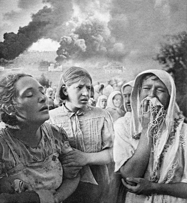 Velká vlastenecká válka, 23. června 1941 v Kyjevě. - Sputnik Česká republika
