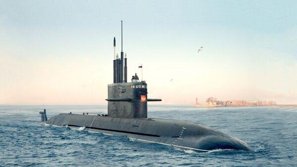 Ruská ponorka Amur 1650 - Sputnik Česká republika
