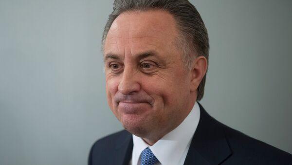 Ministr sportu RF Vitalij Mutko - Sputnik Česká republika