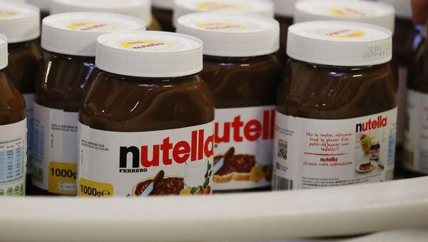 Čokoládová pasta Nutella - Sputnik Česká republika