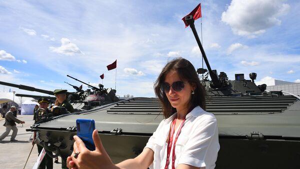 Vojensko-technické fórum Army 2019 v parku Patriot nedaleko Moskvy. Slavnostní zahájení - Sputnik Česká republika