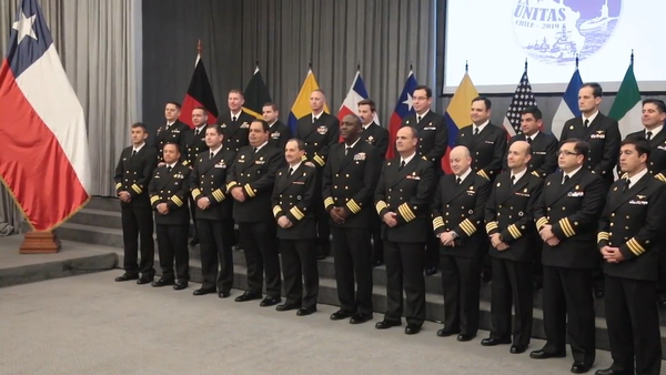 V Chile se konalo slavnostní zahájení vojenských cvičení v čele s USA (VIDEO) - Sputnik Česká republika