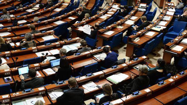 Zasedání Parlamentního shromáždění Rady Evropy - Sputnik Česká republika