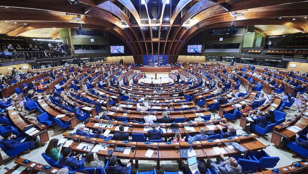Parlamentní shromáždění Rady Evropy - Sputnik Česká republika