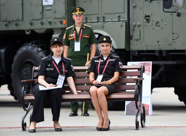 Účastníci Mezinárodního vojensko-technického fóra Army 2019. - Sputnik Česká republika
