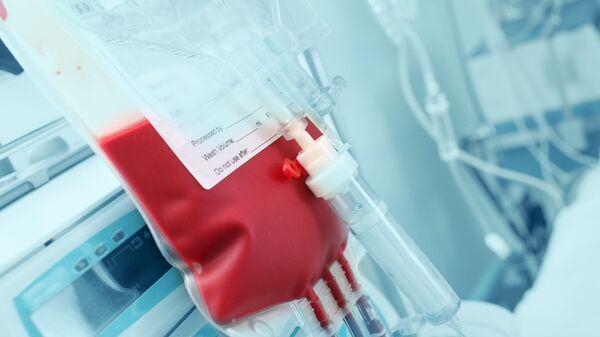 Krev dárce. Ilustrační foto - Sputnik Česká republika