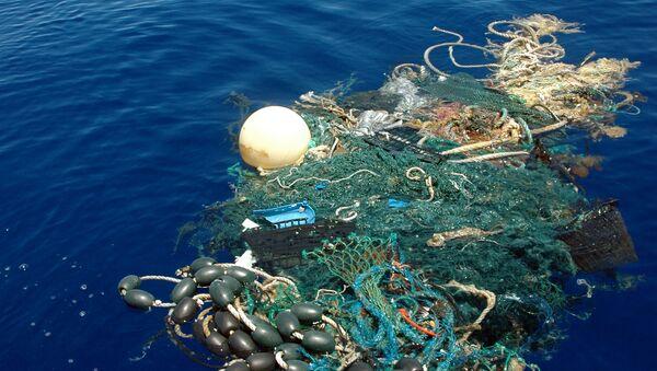 Odpadky v Tichém oceánu - Sputnik Česká republika