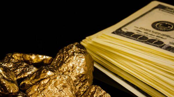 Zlato a dolary - Sputnik Česká republika