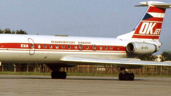 Letadlo ČSA. Archivní záběr, 1975 - Sputnik Česká republika