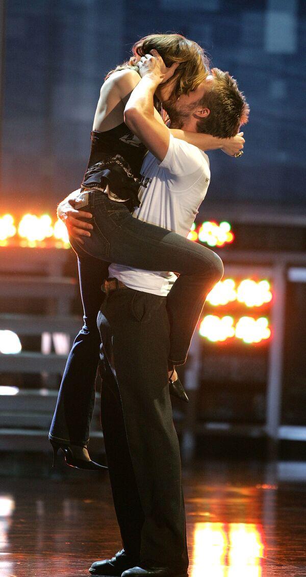 Herečka Rachel McAdamsová a herec Ryan Gosling během slavnostního předávání cen MTV Movie Awards - Sputnik Česká republika