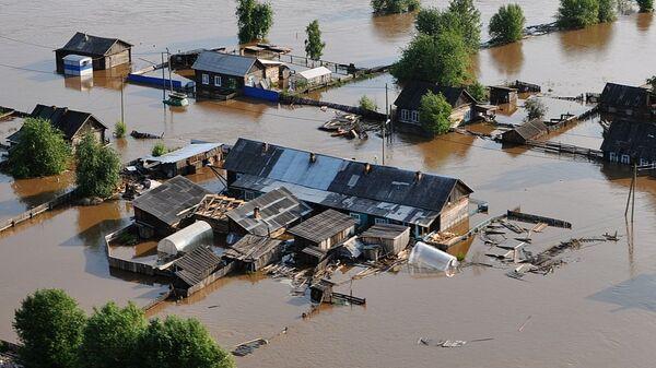 Povodeň v Irkutské oblasti - Sputnik Česká republika