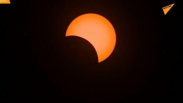 Úplné zatmění Slunce nad Argentinou - Sputnik Česká republika