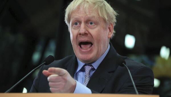 Britský politik Boris Johnson - Sputnik Česká republika