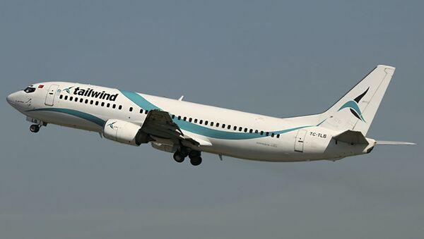 Boeing 737-400 TC-TLB Tailwind Airlines - Sputnik Česká republika