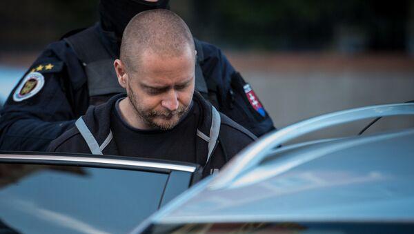 Údajný vrah slovenského novináře Jána Kuciaka - Miroslav Marček - Sputnik Česká republika