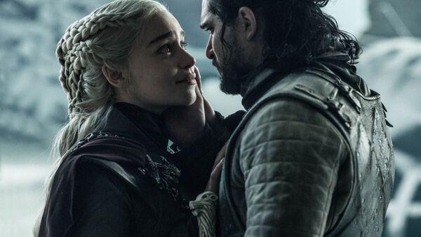 Jon Sníh a Daenerys Targaryens - Sputnik Česká republika