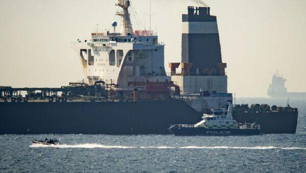 Ropný tanker Grace 1 - Sputnik Česká republika