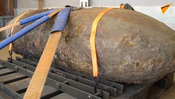 Ve Frankfurtu nad Mohanem byla zneškodněna bomba z dob 2. světové války - Sputnik Česká republika