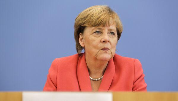 Kancléřka SRN Angela Merkelová - Sputnik Česká republika