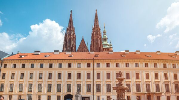 Pražský hrad a katedrála svatého Víta v Praze - Sputnik Česká republika