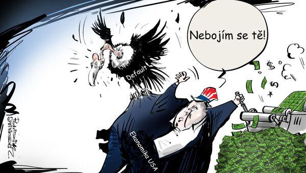 Spojeným státům předpovídají default - Sputnik Česká republika