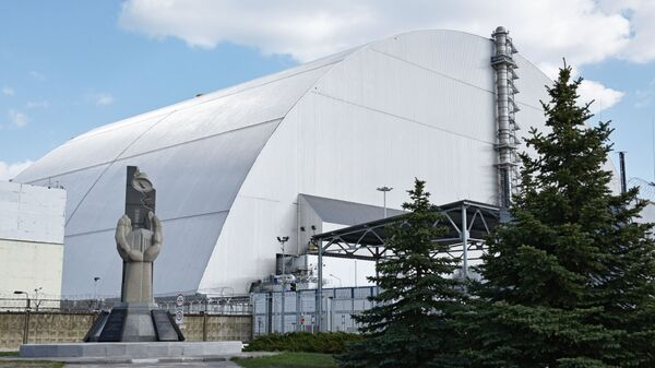 Nový sarkofág jaderné elektrárny v Černobylu - Sputnik Česká republika