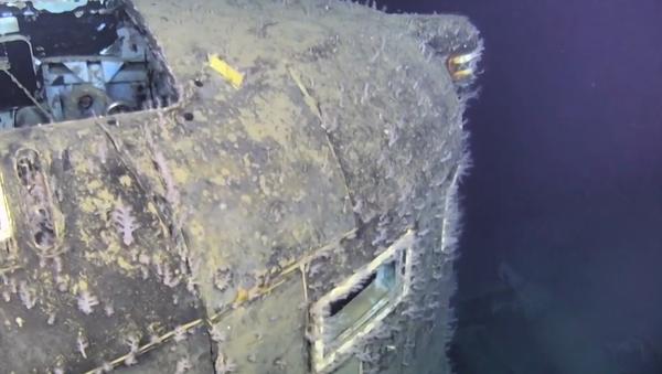 Co se děje tam, kde se před 30lety utopilo 42 členů posádky jaderné ponorky? Záběry z mořského dna    - Sputnik Česká republika