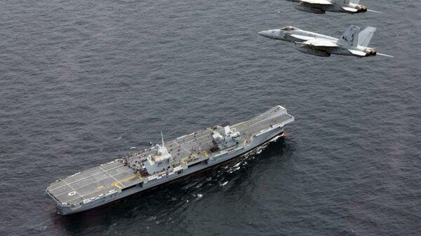 Letadlová loď HMS Queen Elizabeth - Sputnik Česká republika