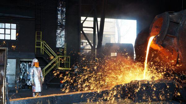 Ostravská huť ArcelorMittal. Ilustrační foto - Sputnik Česká republika