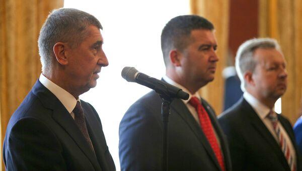 Premiér Andrej Babiš a předseda ČSSD Jan Hamáček - Sputnik Česká republika