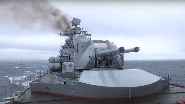 Ministerstvo obrany RF zveřejnilo video odpálení raket Moskit (Mosquito) v Japonském moři - Sputnik Česká republika