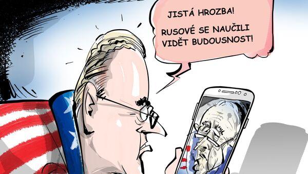 Jistá hrozba! Rusové se naučili vidět budoucnost! - Sputnik Česká republika